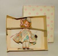 1940-50'S NANCY ANN STORYBOOK SERIES DOLL LITTLE BO PEEP #153 w/BOX
