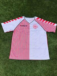 Denmark 1986 Away Shirt Small
