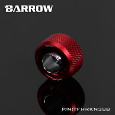 "Barrow G1/4"" 'Choice' 3/8 - 1/2 Flexible Tube Compression Fitting Red - 213"
