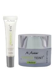M.Asam® Perfect Teint Faltenfüller mit Retinol 50ml + PERFECT EYE Augenserum 7ml
