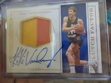 2015-16 NATIONAL TREASURES KIKI VANDERWEGHE CLUTCH FACTOR PATCH AUTO /13 NUGGETS