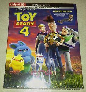 New Toy Story 4 4K Ultra HD/Blu-ray/Digital Digipack Target USA (not Digibook)