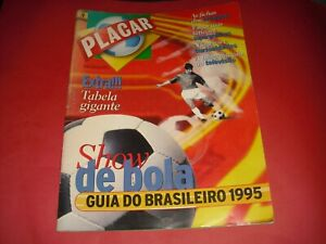 1995 PLACAR BRAZIL MAGAZINE GUIA DO BRASILERO CHAMPIONSHIP