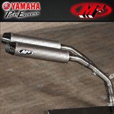 2007 2008 YAMAHA YZFR1 YZF R1 M4 EXHAUST DUAL TITANIUM MUFFLER SLIP ON SYSTEM