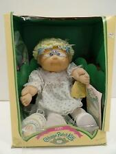 Coleco Cabbage Patch Kids Doll Adamina Lana'85 3900 Legend Cups Plates Vtg Paper