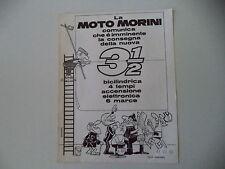 advertising Pubblicità 1973 MOTO MORINI 3 1/2 350