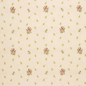 Lee Jofa Pansy Matelasse Cotton Floral Embroidery Upholstery Fabric - Poppy