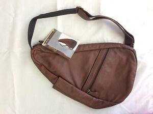 Classic Collection AmeriBag Cognac Small Healthy Back Bag