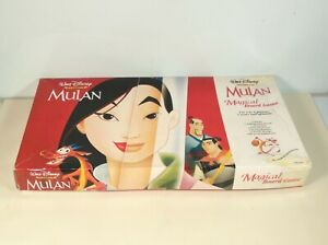 Mulan Magical Board Game Complete Vintage Disney Box WORN One REPLACEMENT