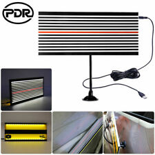 Led Reflector Line Board Pdr Tool 2 Sides Light Scrach Paintless Dent Removal Us
