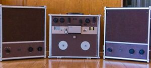 Ampex Model F4460 Recorder & Two Ampex F2044 Tube Mono Blocks Speaker/Amplifier