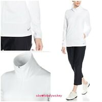 Nike Women's Therma-Fit  Golf Full Zip Jacket  White
