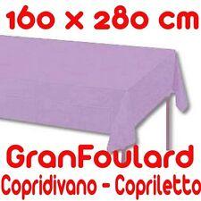 Mobilier De Tissu Housse Couvre-lit GranFoulard couvre tout Coton Violet