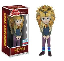 Luna Lovegood con testa di leone-Harry Potter Funko Pop Figura in Vinile Rock Candy NUOVO