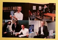CHRIS HADFIELD SIGNED AN ASTRONAUT'S GUIDE TO LIFE ON EARTH BOOK WITH 4 PHOTOS