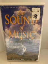 The Sound of Music (VHS/2000/Clamshell/Digitally Remastered) Julie Andrews ~ NEW