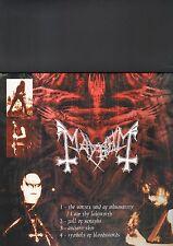MAYHEM / EMPEREUR - split LP
