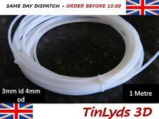 PTFE Teflon Tube 3mm id 4mm od Teflon Tubing 3.0mm Filament Extuder Heating Tube
