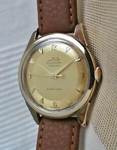 Vintage rare Swiss Mido Multifort Deluxe mechanical watch,steel-gold, cal. 1200C