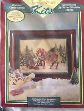 RARE Teresa Wentzler Companions counted cross stitch kit SEALED