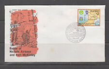 Philippine Stamps 1995 Battle of Nichols Airbase & Fort McKinley FDC