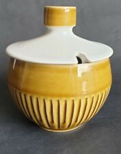 Vintage Denby / Langley 'Patrician' Lidded Sugar Bowl, by Gill Pemberton