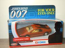 Lotus Esprit Turbo James Bond - Corgi TY04702 in Box *31228