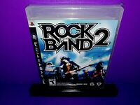 Rock Band 2 (Sony PlayStation 3, 2008) PS3 Brand New B523
