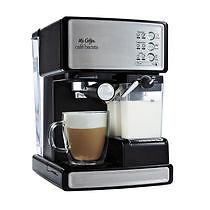 Mr. Coffee BVMC-ECMP1000 5 Cups Espresso Machine - Black/Silver (FACTORY SEALED)