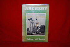 Archery The Barnes Sport Library Reichart & Keasey 1940 Hardcover Book Free Ship