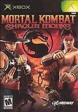 Mortal Kombat: Shaolin Monks (Microsoft Xbox, 2005)