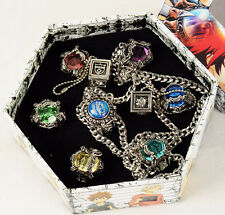Free Shipping Katekyo Hitman Reborn Anime Vongola Family Rings Set