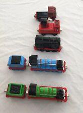 Lot Of 5 Thomas Take Along Engines Gordon, Henry, Diesel, Hose Car, Elizabeth.