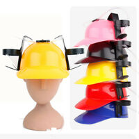 Exotic Beer Soda Guzzler Helmet Drinking Hat Novelty Party Watching TV PA