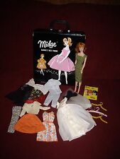 Vintage Barbie MIDGE Titian/Redhead, Vintage Clothing Lot, Book & Vintage Case!