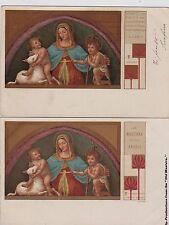 # MADONNA NELL'ARTE ediz. CHIATTONE- 2 CART. Dip.di B. LUINO