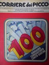 Corriere dei Piccoli n°35 1979 Numero speciale dedicati ai giochi dei CDP  [C19]