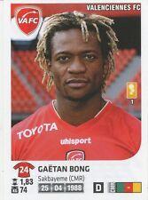 N°465 GAETAN BONG # CAMEROON VALENCIENNES.FC STICKER PANINI FOOT 2013