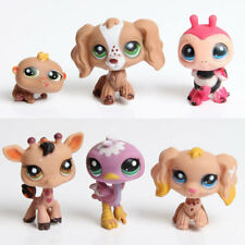 Littlest Pet Shop Small Puppy Dog Action Figures Kids Toys Color Random