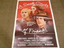 Jameson Parker, Karen Allen, Brad Davis - A Small Circle of Friends Poster 1980