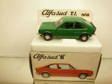 POLISTIL S41 ALFA ROMEO ALFA SUD Ti - GREEN 1:25 very rare color - VERY GOOD IB