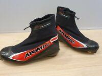 ATOMIC Sport Classic XC Cross Country Ski Boots Size EU41 1/3 SNS Pilot