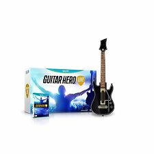 NEW Guitar Hero Live Bundle WiiU Wii U  Mfg Sealed Guitar & Video Game BNIB