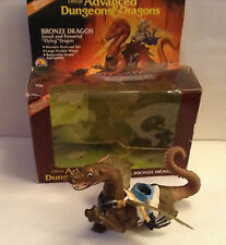 BRONZE DRAGON ADVANCED DUNGEONS AND DRAGONS action figures LJN 1983 BOXED ADV