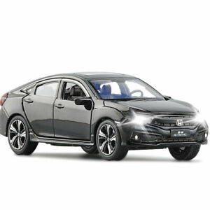 1:32 Honda Civic Model Car Alloy Diecast Toy Vehicle Collection Kids Gift Black