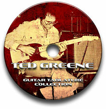 TED GREENE JAZZ FINGERSTYLE GUITAR TABS TABLATURE SONG BOOK SOFTWARE CD