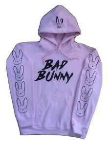 Bad Bunny Hoodie Size Large