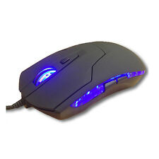USB CABLATO OTTICA GAME Gaming Mouse PC 6 Pulsanti regolabile 1200 dpi NOTEBOOK NUOVA