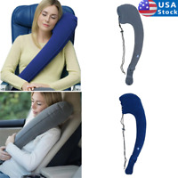 Travel Pillows for Airplanes Ultimate Inflatable Travel Pillow & Neck Pillow US