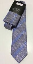 ANTONIO RICCI COUTURE FASHION NECKTIE HANKIE POCKET SQUARE SET NEW - 36